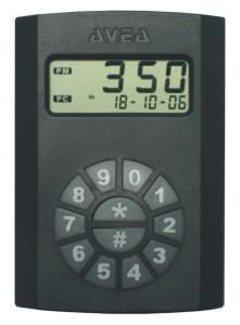 RFID reader with display