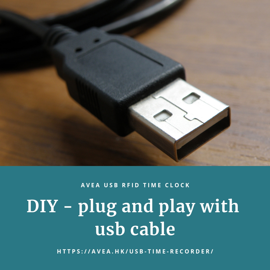 DIY plug and play with usb cable
