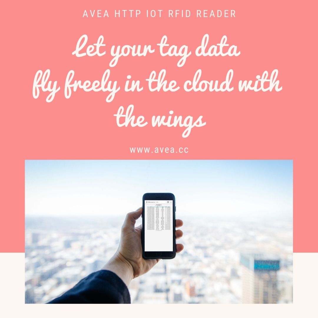 tag data fly freely in the cloud with the wings