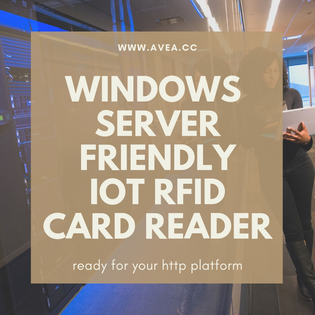 windows server friendly iot rfid card reader