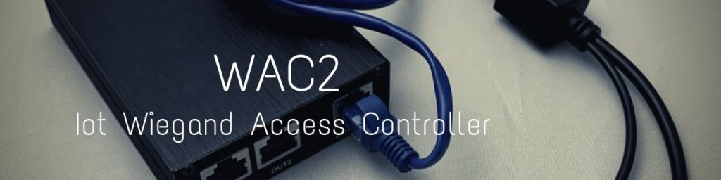 wac2 iot wiegand access controller