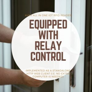 equipped with relay control