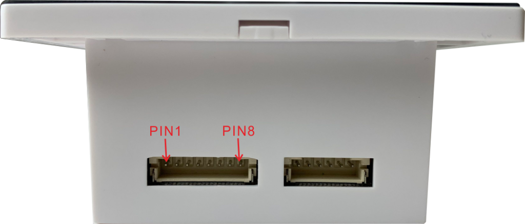 QR2M 8 pin 2.0mm pin definition