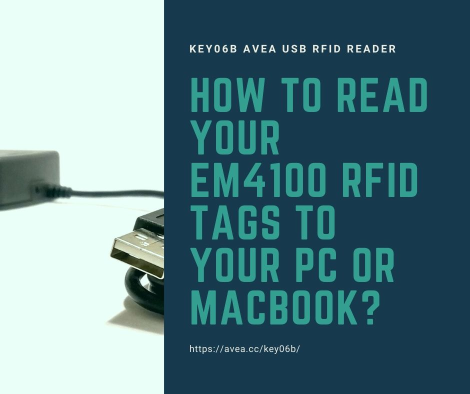 How to read your EM4100 RFID tags to your PC or MacBook?