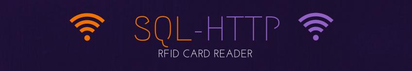 SQL RFID Reader